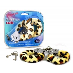 PLAY TIME CUFFS LEOPARD