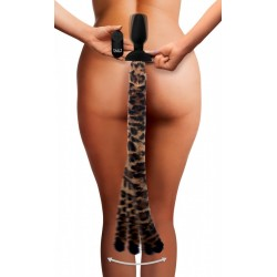 WAGGERZ MOVING AND VIBRATING LEOPARD TAIL AND EARS